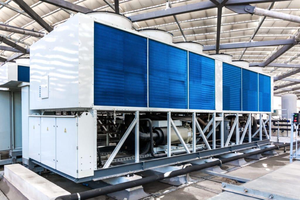 Kaltwassersatz mieten für Industriehalle