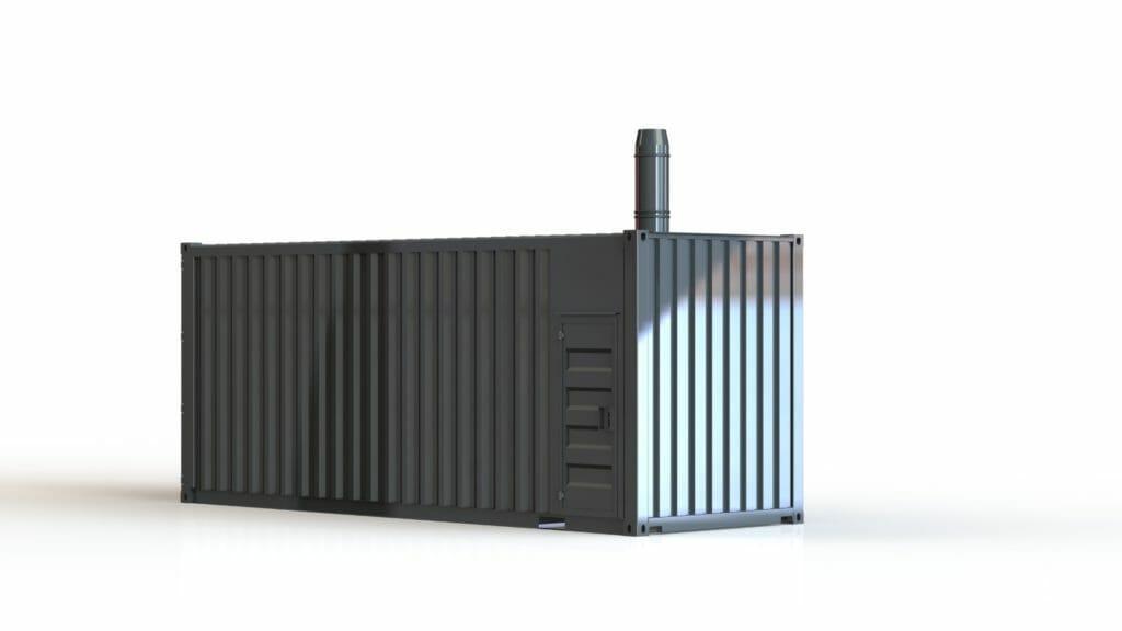 Heizcontainer Grafik